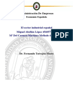 Informe de Industria Española