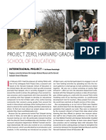 Project Zero, Harvard Graduate School of Education