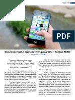 Desenvolvendo Apps Nativos Para iOS - Tópico ZERO