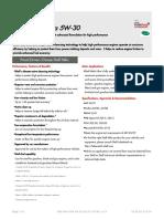 Gpcdoc Gtds Shell Helix Ultra 5w-30 (Sl Cf a3 b4) (en) Tds