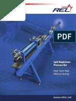 Split Hopkinson Pressure Bar Brochure LR