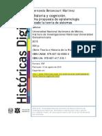 Historia y Cognición F. Betancourt