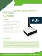 TL-WPS510U V5 Datasheet