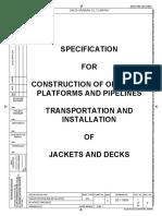 De-119894 Trans-Install of Jackets & Decks