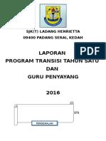 Laporan Program Transisi Tahun 1 2016