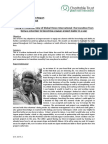 Jalova Sept 15 Monthly Achievement Report