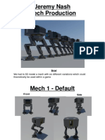 mech production assignment
