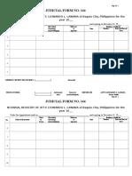 Judicial Form No. 144 - 100 Pages
