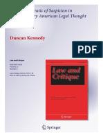Kennedy(2014)HermeneuticOfSuspicionInAmericanLegalThought