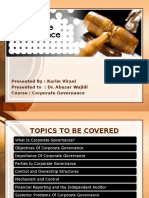 Corporate Governance - Presentation