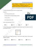 Ficha de Trabalho - Produto Escalar e Geometria Analítica