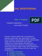 Soal-soal Skizofrenia