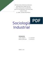 Sociologia Industrial