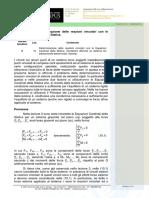 10_determinazioni Delle Reazioni Vincolari Con Le Equazioni Cardinali Della Statica