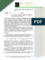 13_Determinazione Delle Reazioni Vincolari Con Il Principio Dei Lavori Virtuali