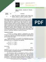 28_Analisi Della Tensione,Teorema Di Cauchy – Equazioni Indefinite Di Equilibrio