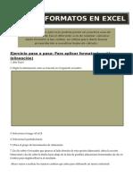 Ejercicio de Formatexcelos en Excel1