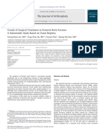 Trends of Surgical Treatment in Femoral Neck Fracture