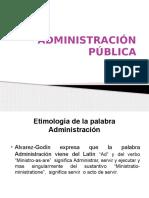 Diapositivas Derecho Administrativo