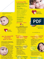 asdc - asl developmental milestones brochure