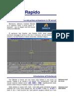 Manuale Disegno 3D - Blender Rapido