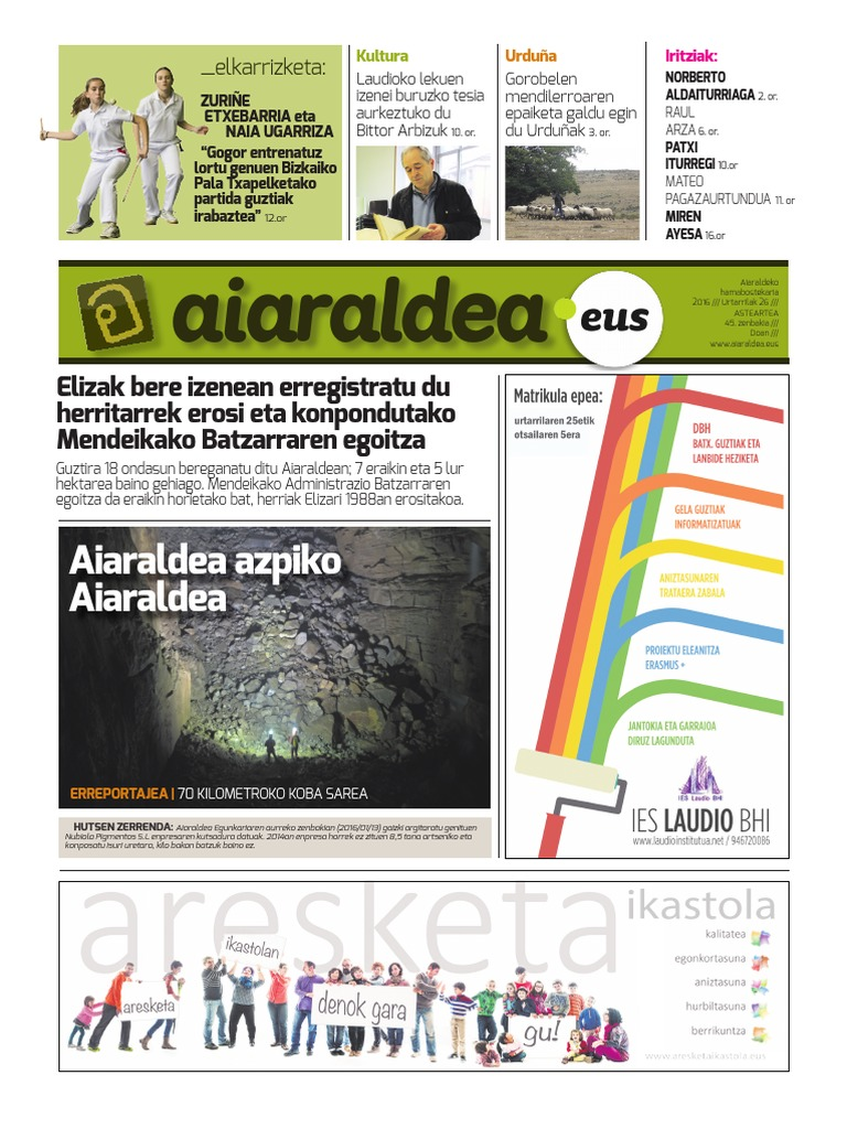 Ana Bekoa Wikipedia aiaraldea egunkaria 45. zenbakia