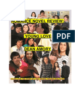 Romance Novel Review - Young Love - An Adolescent Boys Road to Adulthood - Dean Amory