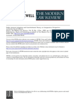 Feldman Public Interest Litigation and Constitutional Theory in Comparative Perspective
