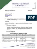 Presupuesto a todo costo estructuras  metalica y concreto cas Dr Cucalon..pdf