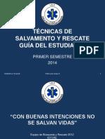 p1 Tecnicas de Rescate Cruz Roja Ecuador