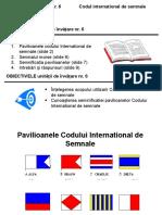PM_Unit 6. Codul International de Semnale