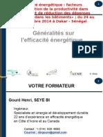 01 Generalite Sur Efficaite Energetique