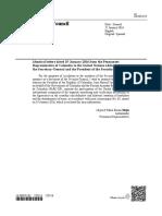 Cartas del gobierno colombiano a la ONU
