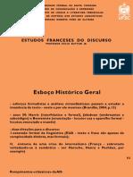 Estudos Franceses Do Discurso