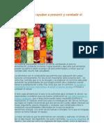 Alimentos Que Ayudan a Prevenir y Combatir El Cáncer