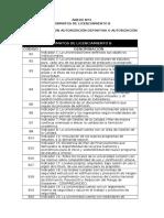 Listado de Formatos de Licenciamiento b - Def y Provis