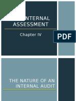 Chapter 4 - Internal Assessment