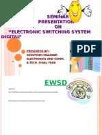 EWSD SYSTEM PPT