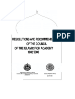 Fiqh Academy Resolutions