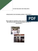 Reglamento Propuesto Laboratorios 2012