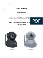 Camara IP FI8918W User Manual