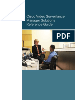 Cisco Video Surveillance Manager Solutions Reference Guide