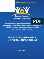 didactica matematicii