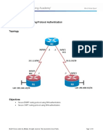 CCNPv7 ROUTE Lab8-2 Routing Protocol Authentication Instructor