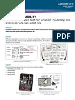 Estabilidad de Oxidacion
