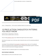 10 Price Action Candlestick Patterns You Must Know