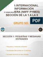 Presentación Grupo 1 Niif Pymes Final