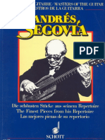 Collection Pieces for Solo Guitar - Andres Segovia