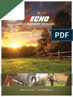 Catalog forest machinery Echo 2016