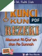 Kunci Kunci Rezeki - Syaikh DR Fadhl Ilahi